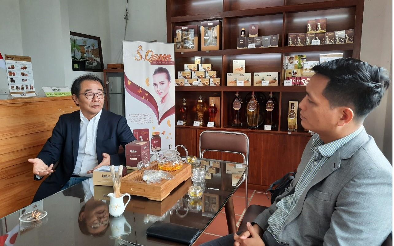 01/2019: Tiến sỹ, Bác sỹ Tadahiro và Biofun trao đổi tại TT R&D Tam Đảo