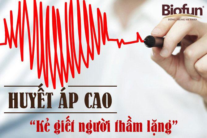 Huyết áp cao đối với đông trùng hạ thảo